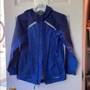 LLBean rain jacket